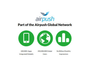 Airpush Launches Mobile Data Marketplace Enabling App Monetization Without Ads