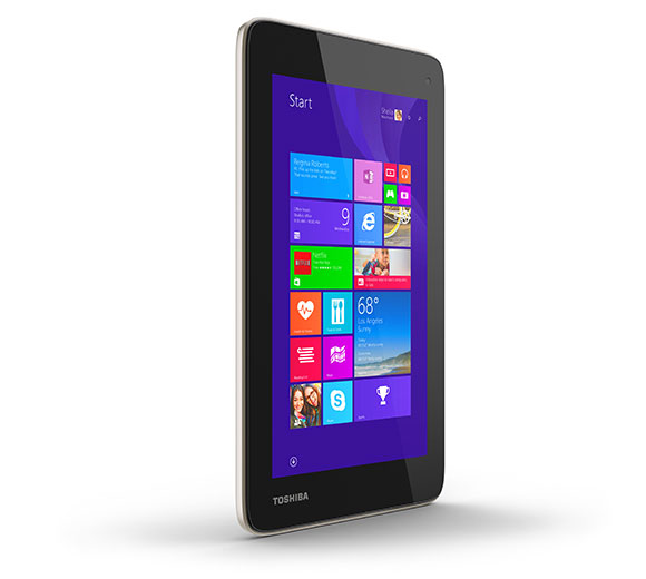 Introducing the Toshiba Encore 7 Windows-based tablet, unveiled for the first time publicly on stage at the Microsoft Computex Keynote 2014.